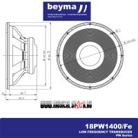 BEYMA 18PW1400Fe dim