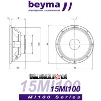 BEYMA 15MI100 dim