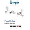 WENGER Heavy-Duty Piano Dolly
