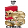 Sabian XA5003 CLUB MIX XS20/ AAX Set