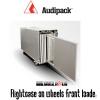 Audipack Flightcase on wheels front loader